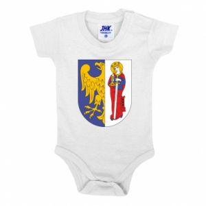 Baby bodysuit Ruda Slaska arms