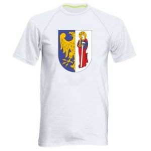 Men's sports t-shirt Ruda Slaska arms