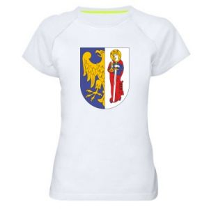 Women's sports t-shirt Ruda Slaska arms