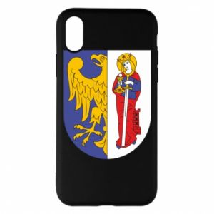 Phone case for iPhone X/Xs Ruda Slaska arms