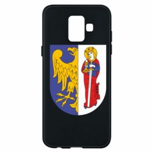 Phone case for Samsung A6 2018 Ruda Slaska arms