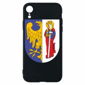 Phone case for iPhone XR Ruda Slaska arms