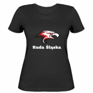 Koszulka damska Ruda Śląska Orzeł trójkolorowy
