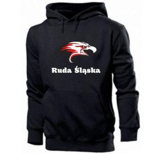 Bluza z kapturem męska Ruda Śląska Orzeł trójkolorowy