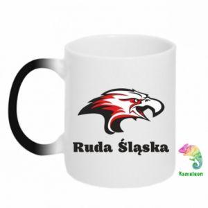 Kubek-magiczny Ruda Śląska Orzeł trójkolorowy