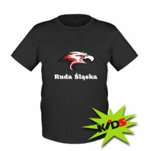 Koszulka dziecięca Ruda Śląska Orzeł trójkolorowy