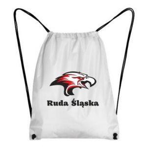 Plecak-worek Ruda Śląska Orzeł trójkolorowy