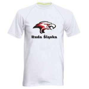 Koszulka sportowa męska Ruda Śląska Orzeł trójkolorowy