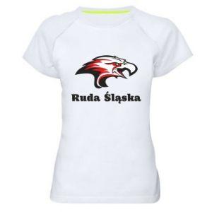 Koszulka sportowa damska Ruda Śląska Orzeł trójkolorowy