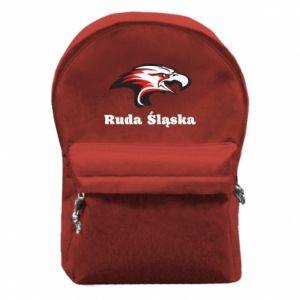 Plecak z przednią kieszenią Ruda Śląska Orzeł trójkolorowy