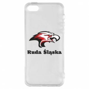 Etui na iPhone 5/5S/SE Ruda Śląska Orzeł trójkolorowy