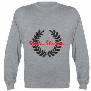 Bluza (raglan) Ruda Śląska w liście