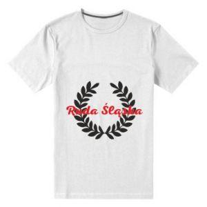 Męska premium koszulka Ruda Śląska w liście