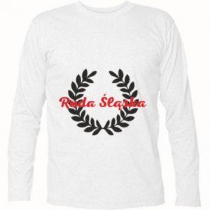 Koszulka z długim rękawem Ruda Śląska w liście