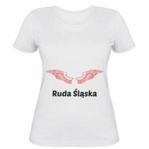 Women's t-shirt Ruda Śląska with wings