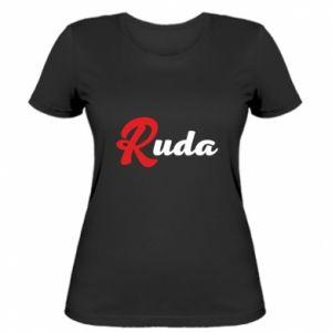 Damska koszulka Ruda