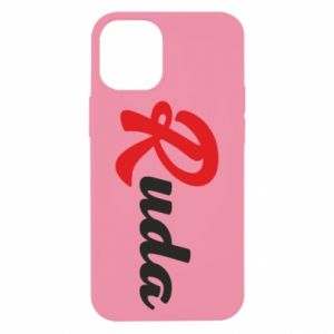 Etui na iPhone 12 Mini Ruda