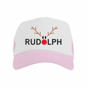 Kid's Trucker Hat Rudolph