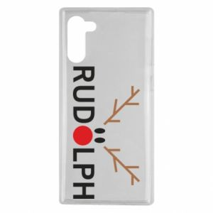 Samsung Note 10 Case Rudolph