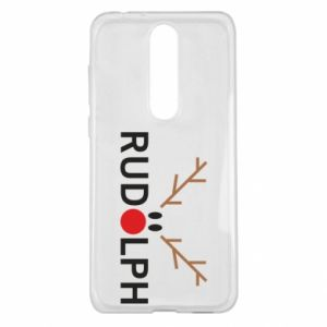 Nokia 5.1 Plus Case Rudolph