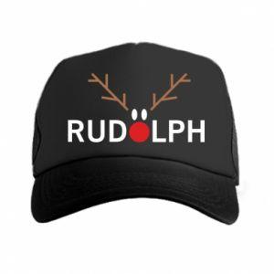 Trucker hat Rudolph