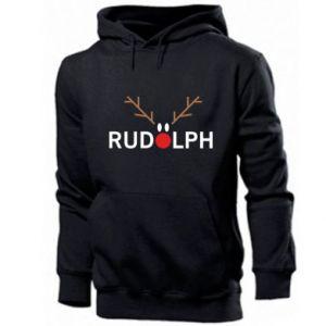 Men's hoodie Rudolph