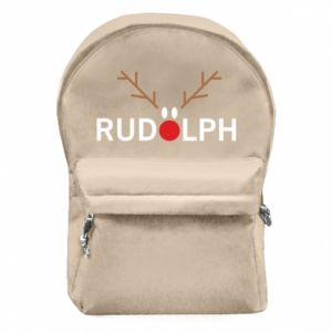 Backpack with front pocket Rudolph
