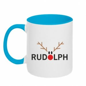 Kubek dwukolorowy Rudolph