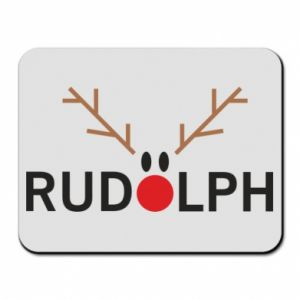 Mouse pad Rudolph