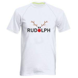 Men's sports t-shirt Rudolph