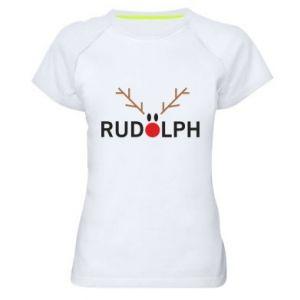 Damska koszulka sportowa Rudolph