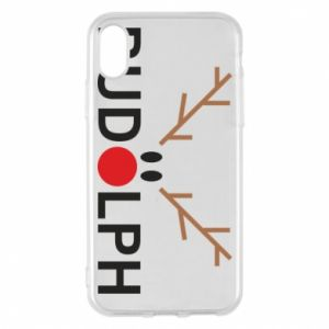 iPhone X/Xs Case Rudolph