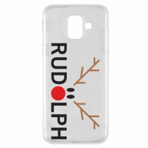 Phone case for Samsung A6 2018 Rudolph