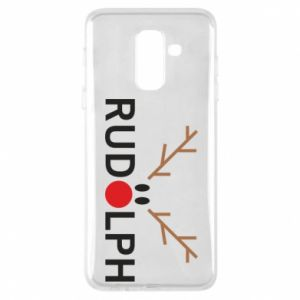 Phone case for Samsung A6+ 2018 Rudolph