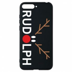 Phone case for Huawei Y6 2018 Rudolph