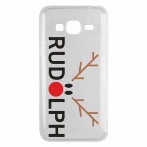 Phone case for Samsung J3 2016 Rudolph