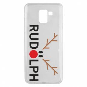 Phone case for Samsung J6 Rudolph