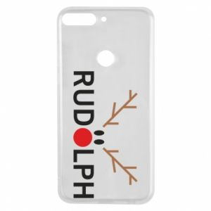 Phone case for Huawei Y7 Prime 2018 Rudolph