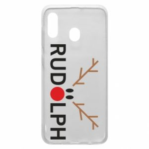 Phone case for Samsung A20 Rudolph