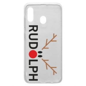 Phone case for Samsung A30 Rudolph