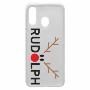 Phone case for Samsung A40 Rudolph