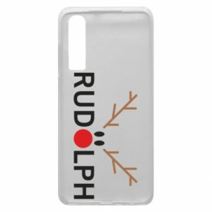 Phone case for Huawei P30 Rudolph