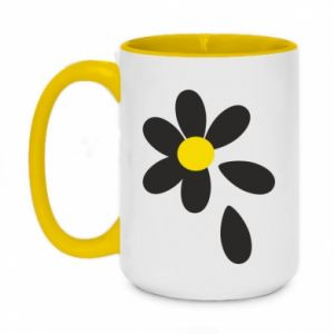 Two-toned mug 450ml Chamomile