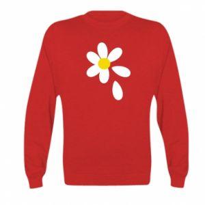 Kid's sweatshirt Chamomile