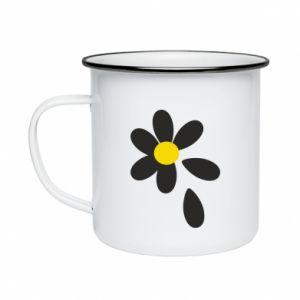 Enameled mug Chamomile
