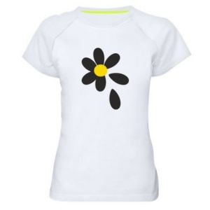 Women's sports t-shirt Chamomile
