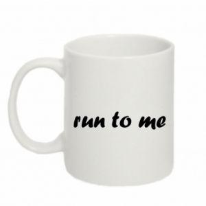 Kubek 330ml Run to me