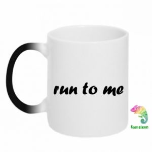 Kubek-magiczny Run to me