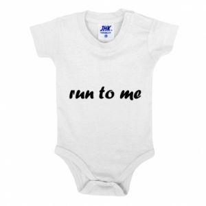 Baby bodysuit Run to me