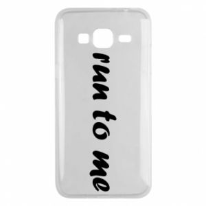 Phone case for Samsung J3 2016 Run to me